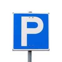 Parkkipaikan liikennemerkki
